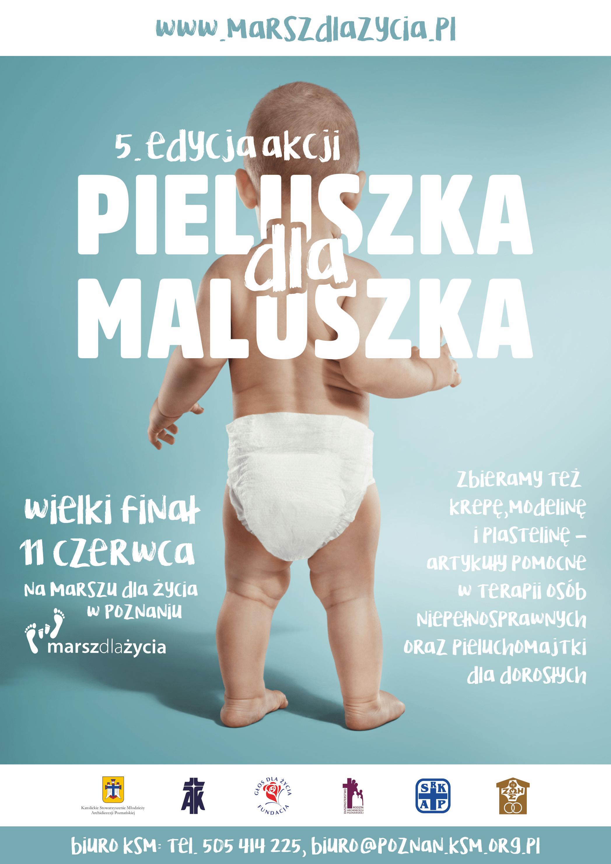 Pieluszka dla Maluszka - plakat