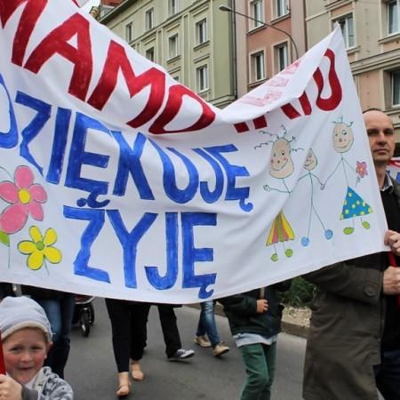 """Marsz dla Życia 2015 Poznań """"Czas na Życie"""""""