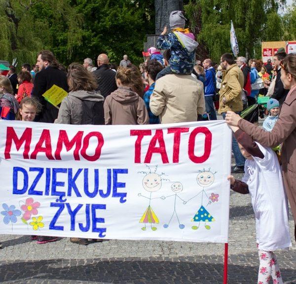 Marsz dla Życia Poznań 2014