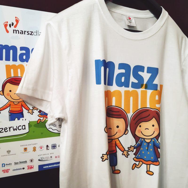 Marsz dla Życia 2018 koszulka