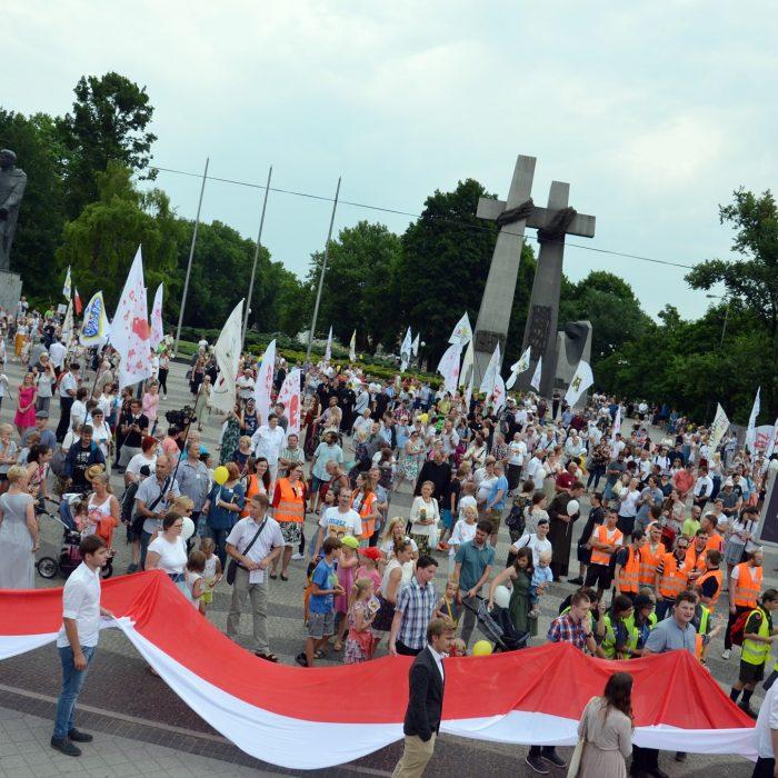 Marsz dla Życia 2018 w Poznaniu - fot. P. Rogal - 1