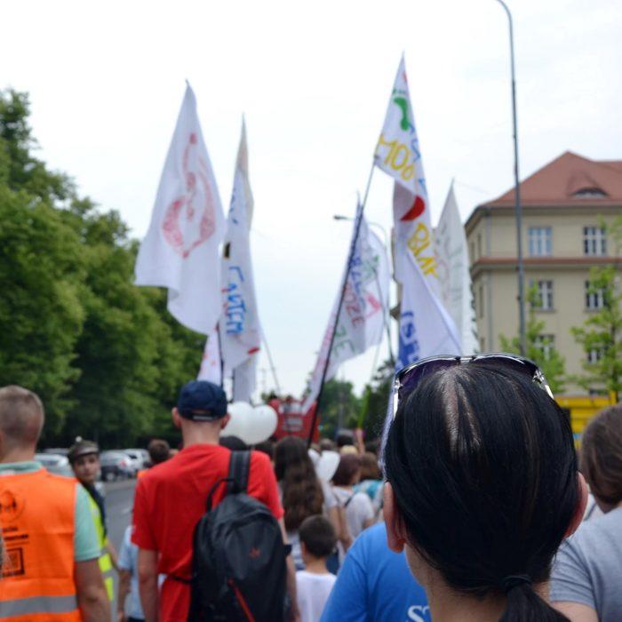 Marsz dla Życia 2018 w Poznaniu - fot. ks. M. Zamelek - 3