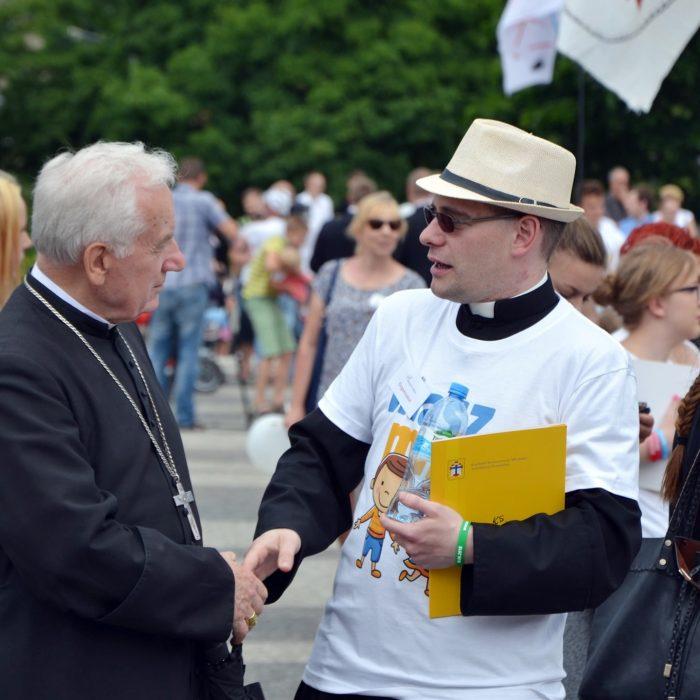 Marsz dla Życia 2018 w Poznaniu - fot. ks. M. Zamelek - 1